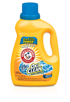 Picture of Arm & Hammer OxiClean Concentrated Liquid Laundry Detergent, Fresh - 62.5oz Bottle
