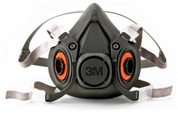 Picture of 3M™ Half Facepiece Reusable Respirator, Respiratory Protection