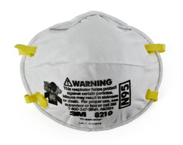 Picture of 3M™ Particulate Respirator 8210, N95