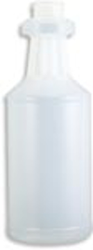Picture of 16 oz Handi-Hold Plastic Bottle, Natural HDPE, 28/400 Thread Finish