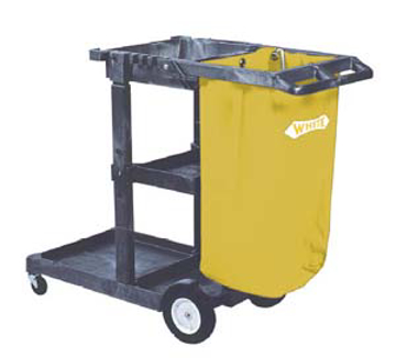 Picture of Janitor's Cart w/ 25-Gallon Vinyl Bag