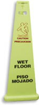 """Picture of Elky Pro® 3-Sided Safety Sign 40"""" high"""