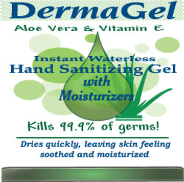 Picture of DermaGel Waterless Moisturizing Hand Sanitizer