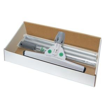 Picture of Unger SmartFit Sanitary Standard Floor Squeegee with SmartColor System and Telescoping Handle