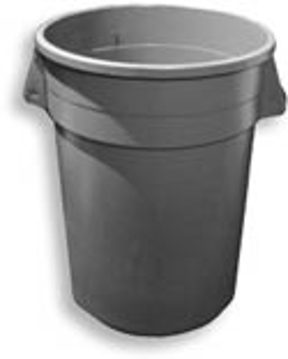 Picture of Huskee Round Receptacle - 55 Gallons