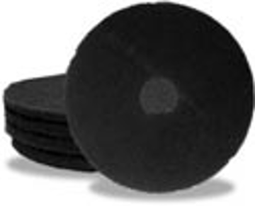 """Picture of 12"""" Black Elky Pro Stripping Pads"""