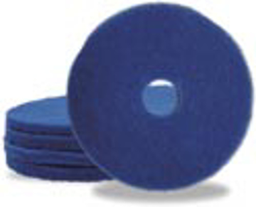 """Picture of 12"""" Blue Elky Pro Cleaner Pads"""