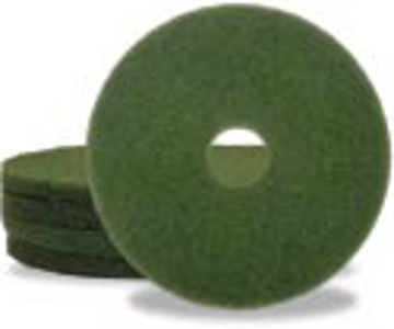 """Picture of 12"""" Green Elky Pro Scrubbing Pads"""