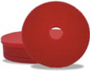 "Picture of 15"" Red Elky Pro Spray Buffing Pads"
