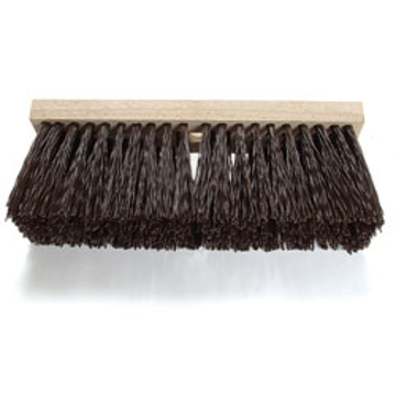 "Picture of 16"" Malish Poly Street Broom"