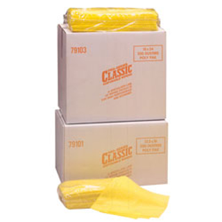 "Picture of MDI Pro-Series Classic Dust Cloth - 13"" x 17"", 1/4 Fold, Yellow - 50 Count"