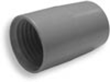 "Picture of 1-1/2"" Hose Connector for Crushproof Hoses - Gray"