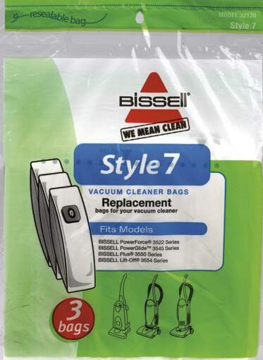 Picture of Bissell Paper Bags - Style 7 (3 Pack) - 32120