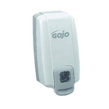 Picture of GOJO NXT SPACE SAVER Push-Style Dispenser, 1000 mL - Dove Gray