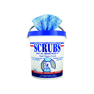 Picture of Scrubs In-A-Bucket Hand Cleaner Wipes - 72 count