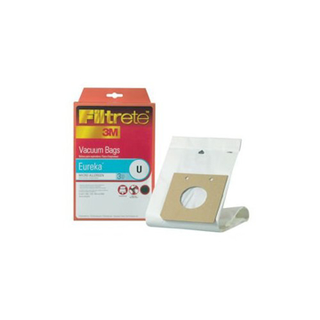 Picture of Eureka Paper Bags - Style U  Filtrete 3M Replacement - Micro Allergen - 3 Pack