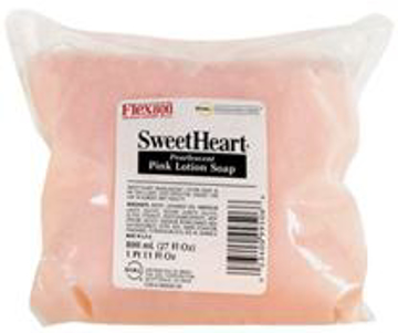 Picture of Dial Professional FLEX800™ Series Sweetheart® Pink Lotion Soap Refill - 800ml
