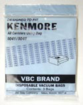 Picture of Sears/Kenmore Paper Bags - Style 5041/5045 - After Market