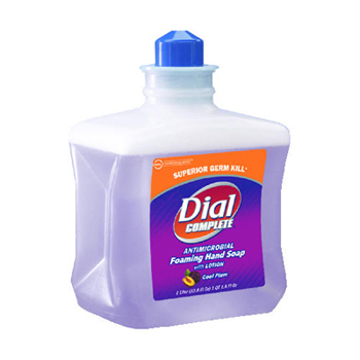 Picture of Dial Complete® Antimicrobial Foaming Hand Soap with Lotion Refill - 1000ml