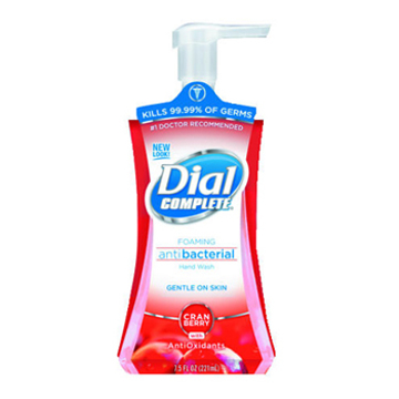 Picture of Dial Complete® Antibacterial Foaming Hand Wash - Cranberry - 7.5oz