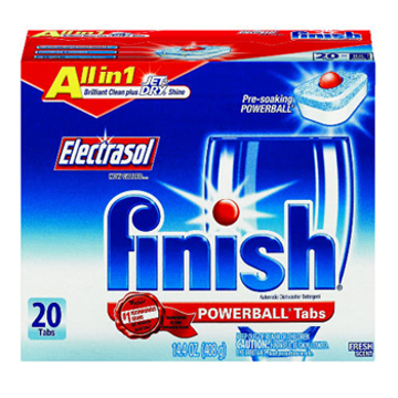 Picture of FINISH® All in 1 POWERBALL® Tabs - 20 Tabs