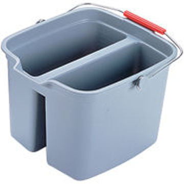 Picture of Rubbermaid Brute Double Pail Bucket - 17 Quart - Gray