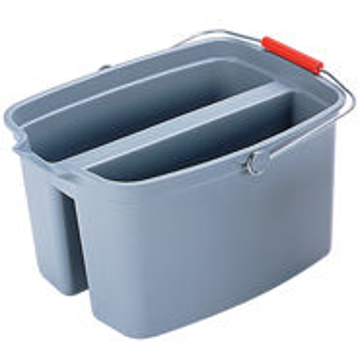 Picture of Rubbermaid Brute Double Pail Bucket - 19 Quart - Gray