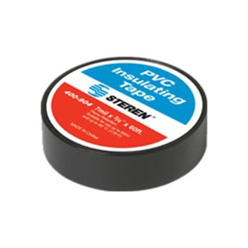 "Picture of Steren PVC Electrical Tape - 7mil x 3/4"" x 60ft"