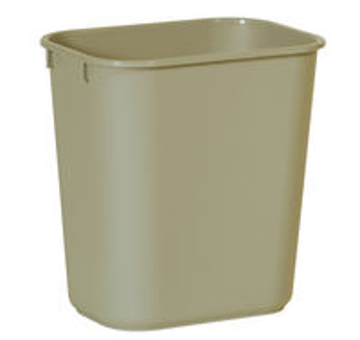 Picture of Rubbermaid Wastebasket, Rectangular Small