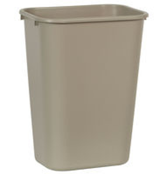 Picture of Rubbermaid Wastebasket, Rectangular Large