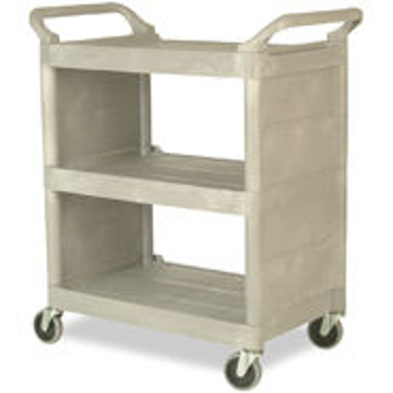 Picture of Rubbermaid 3355-88 Utility Cart with Enclosed End Panels