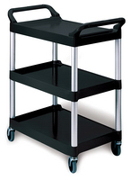 Picture of Rubbermaid 3424-88 Three-Shelf Utility Cart