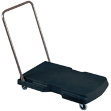 "Picture of Rubbermaid 4400 Triple Trolley - 20.5"" x 32.5"" - 250 lb Capacity"