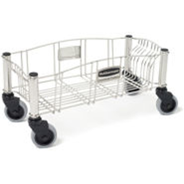Picture of Rubbermaid Slim Jim® Stainless Steel Dolly for Slim Jim® Containers - 3553
