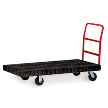 "Picture of Rubbermaid 4466 Utility Platform Truck - 30"" x 60"" - 1000 lb Capacity"