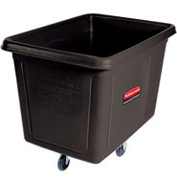 Picture of Rubbermaid 4619 Cube Truck - 20 Cubic Feet, 600 Lb Capacity