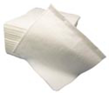 """Picture of MDI """"Pro Towel"""" Heavy Duty Shop Towels - 12"""" x 13"""", 1/4 Fold, White - 50 Count"""