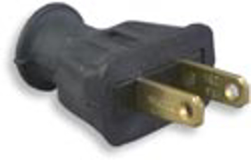 Picture of Cooper Wiring 183BK 2 Wire Rubber Plug - Black