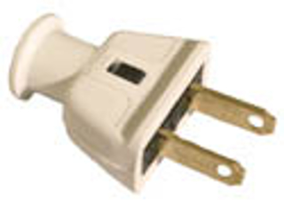 Hesco Inc. Cooper Wiring 183W 2 Wire Rubber Plug - White on 6 wire plug, 2 wire relay, 2wire 12v plug, 2 wire capacitor, 2 wire usb, 2 wire light, 2 wire ring, 2 wire motor, 4 wire plug, 2 wire tubing, 2 wire control, 2 wire connector, wiring plug to plug, 2 wire twist, 2 wire outlet, 2 wire starter, 2 wire pump, 2 wire thermostat, 2 wire coupler, correct wiring of a plug,