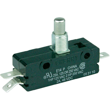 Picture of Cherry E14 Switch, SPDT, 25A @ 125/250 VAC