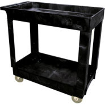 Picture of Rubbermaid 9T66 2 Shelf Utility Cart