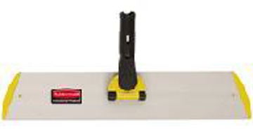 """Picture of Rubbermaid Q560 18"""" Wet/Dry Microfiber Quick Connect Pad Holder Frame"""