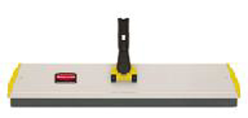 """Picture of Rubbermaid Q570 24"""" Squeegee Microfiber Quick Connect Pad Holder Frame"""
