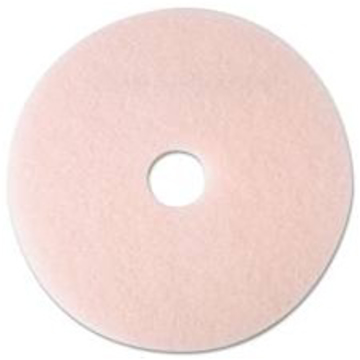"""Picture of 17"""" Pink 3M Ultra High-Speed Eraser Floor Burnishing Pads 3600"""
