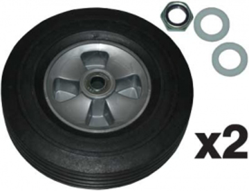 "Picture of Rubbermaid 10"" Wheel for 1/2 Cu. Yd. Utility Tilt Truck - FG1004L30000"