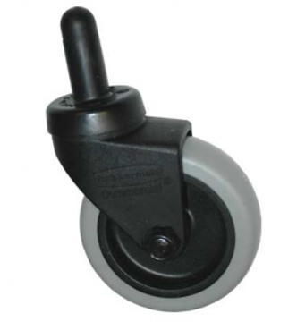 "Picture of Rubbermaid 3"" Plastic Caster w/Metal Axle - FG7570L20000"