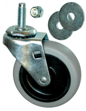 "Picture of Rubbermaid 3"" Swivel Stem Caster for Dolly - FG3530L10000"