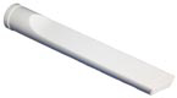 "Picture of 9"" White Plastic Crevice Tool - 1-1/4"""