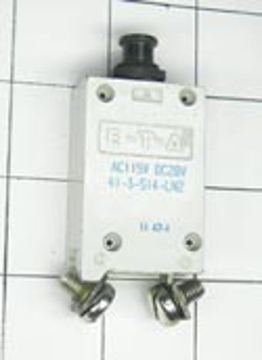 Picture of E-T-A Circuit Breaker, 70 Amp