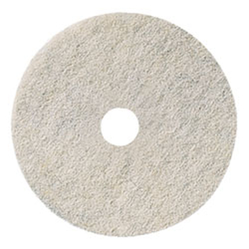 "Picture of 21"" Natural White Elky Pro Burnishing Pads"